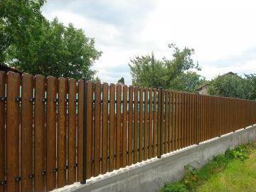 Sipca gard lemn